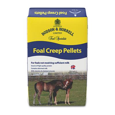D&H Foal creep pellets