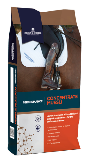 D&H Performance Concentrate Muesli 20kg