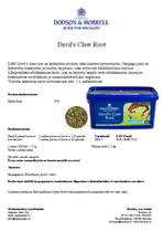 D&H Devil's Claw Root 1,5kg