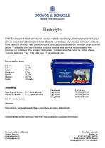 D&H Electrolytes
