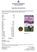 D&H Equine Sensitive 20kg