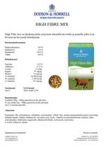D&H High fibre mix 20kg